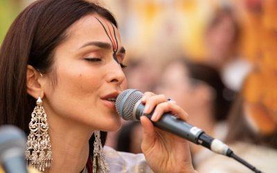 C'est une chanson d'amour pour Krishna